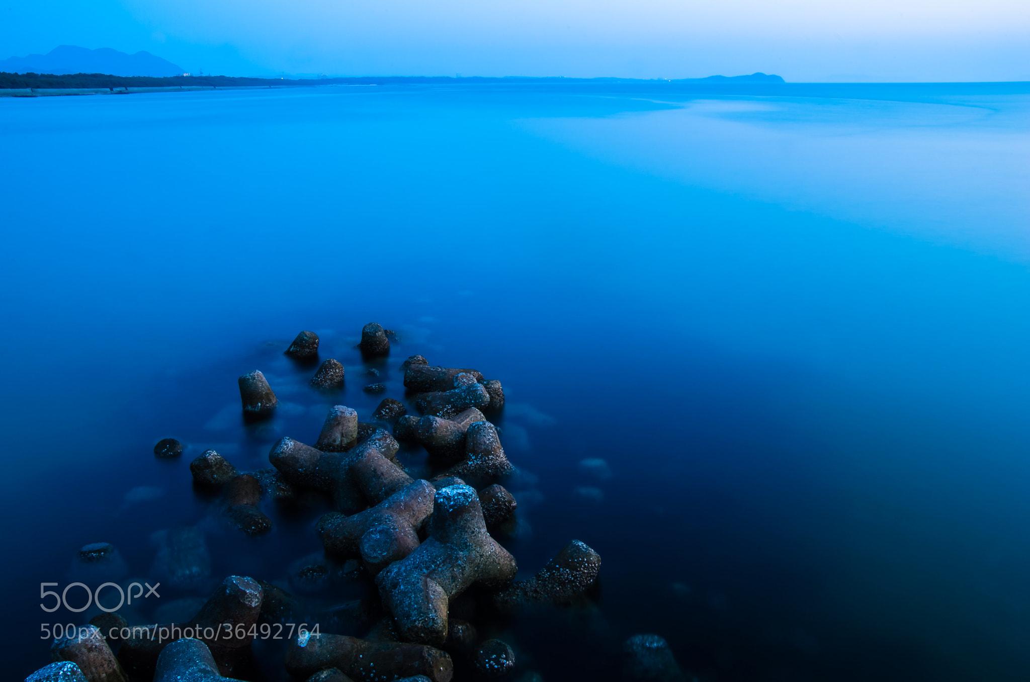 Photograph Blue by Sachiko Kawakami on 500px