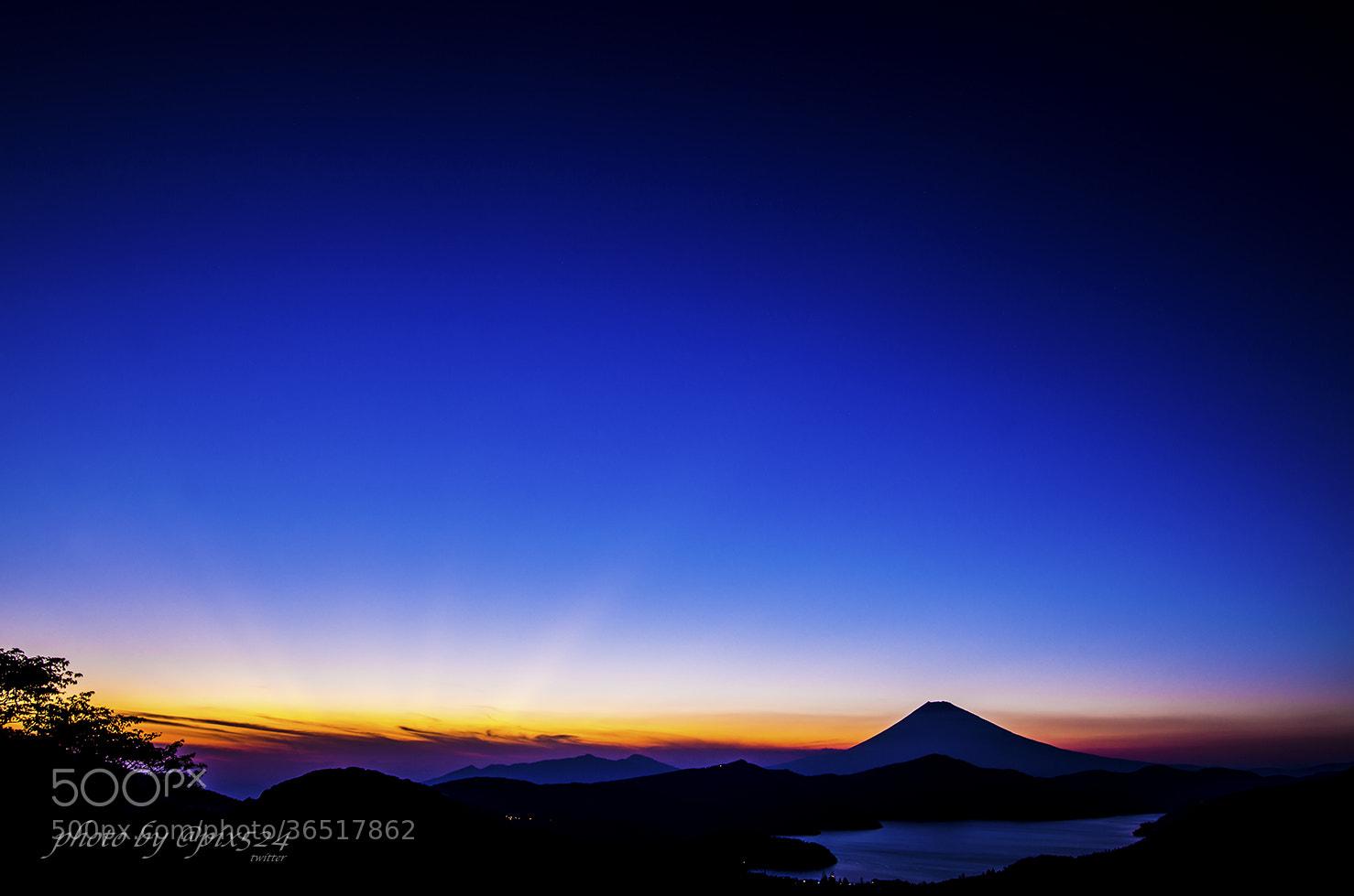 Photograph Sunset-Hakone by Masaya Konishi on 500px