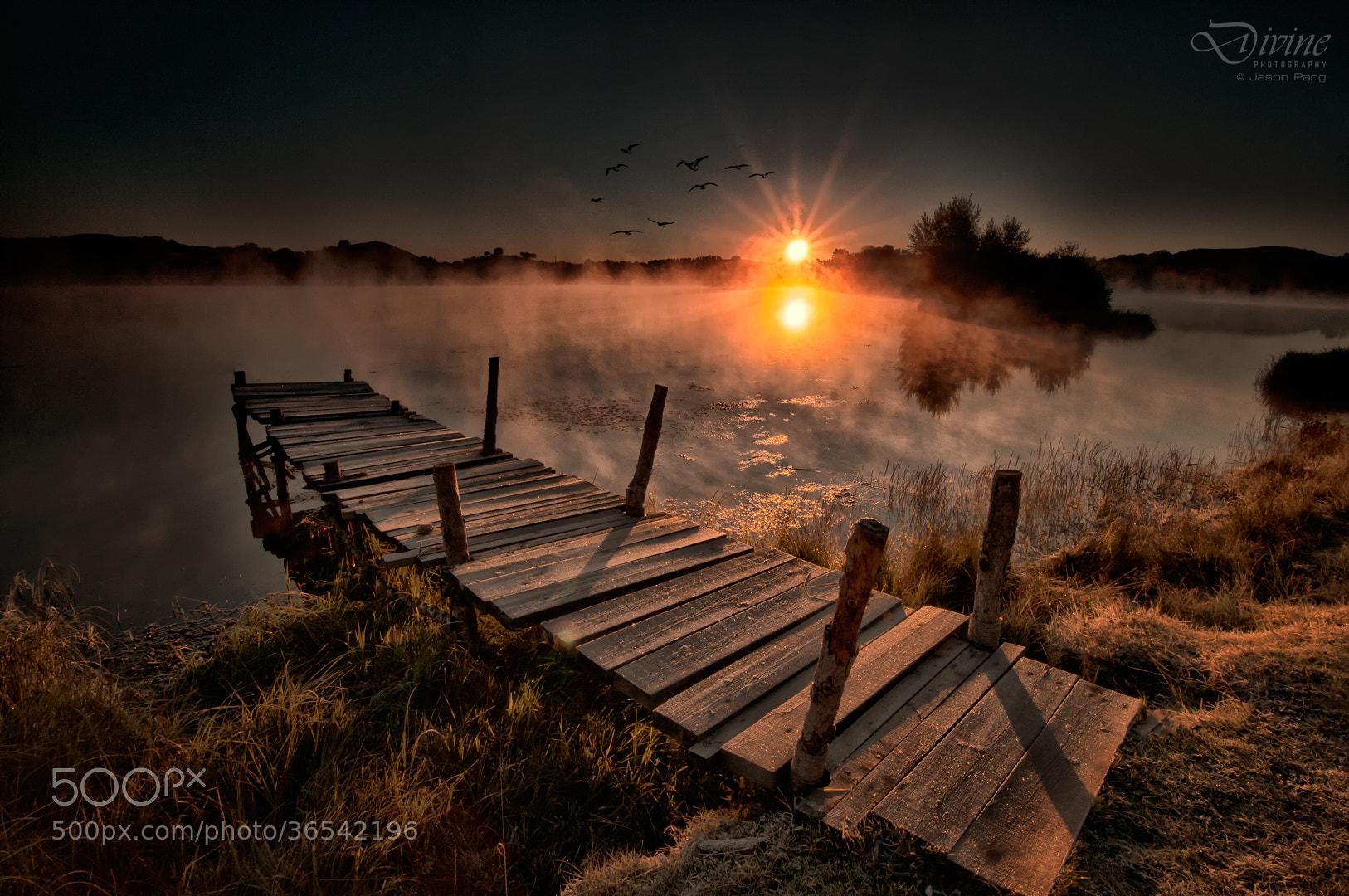 Photograph Misty view of Princess Lake by Jason Pang on 500px