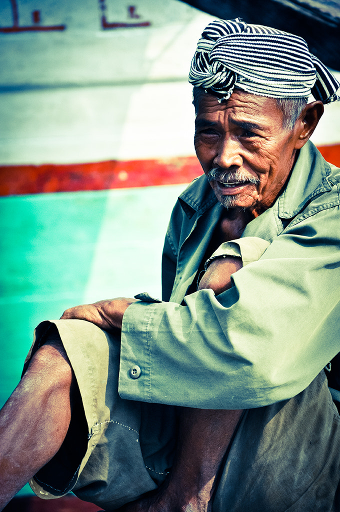 Photograph Old Fisherman by Bayu (by You) Suryo on 500px