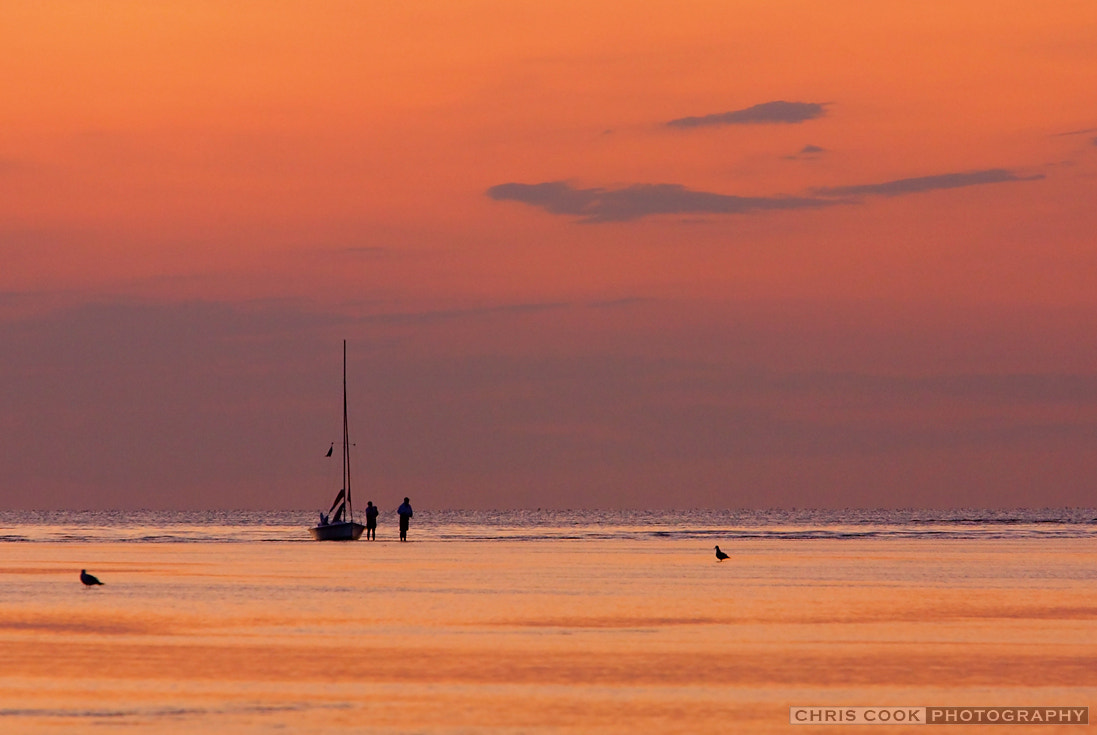 Photograph Sailboat Evening by Chris Cook on 500px