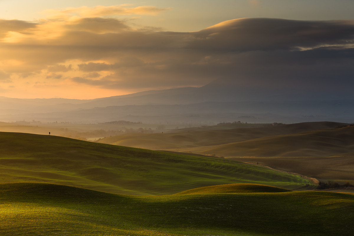 Photograph Morning Light in Val d'Orcia, Tuscany, Italy by Hans Kruse on 500px