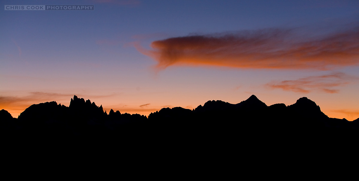 Photograph Sierra Silhouette by Chris Cook on 500px