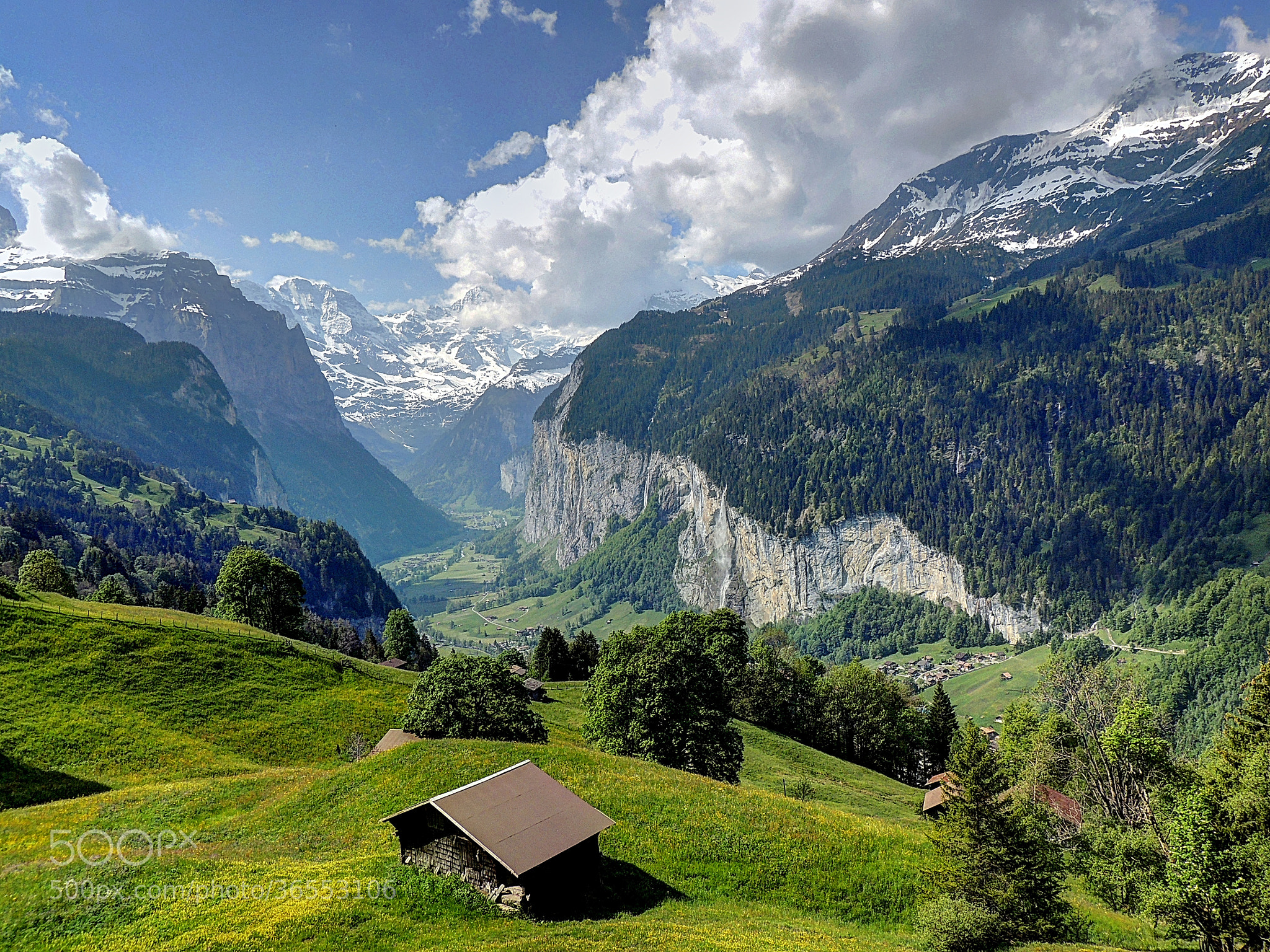 Photograph Heaven on earth (Lauterbrunnen, Switzerland) by Ravi S R on 500px