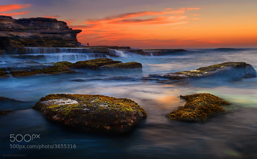 Photograph North Maroubra Sunrise by MONSTERMICKY ! on 500px