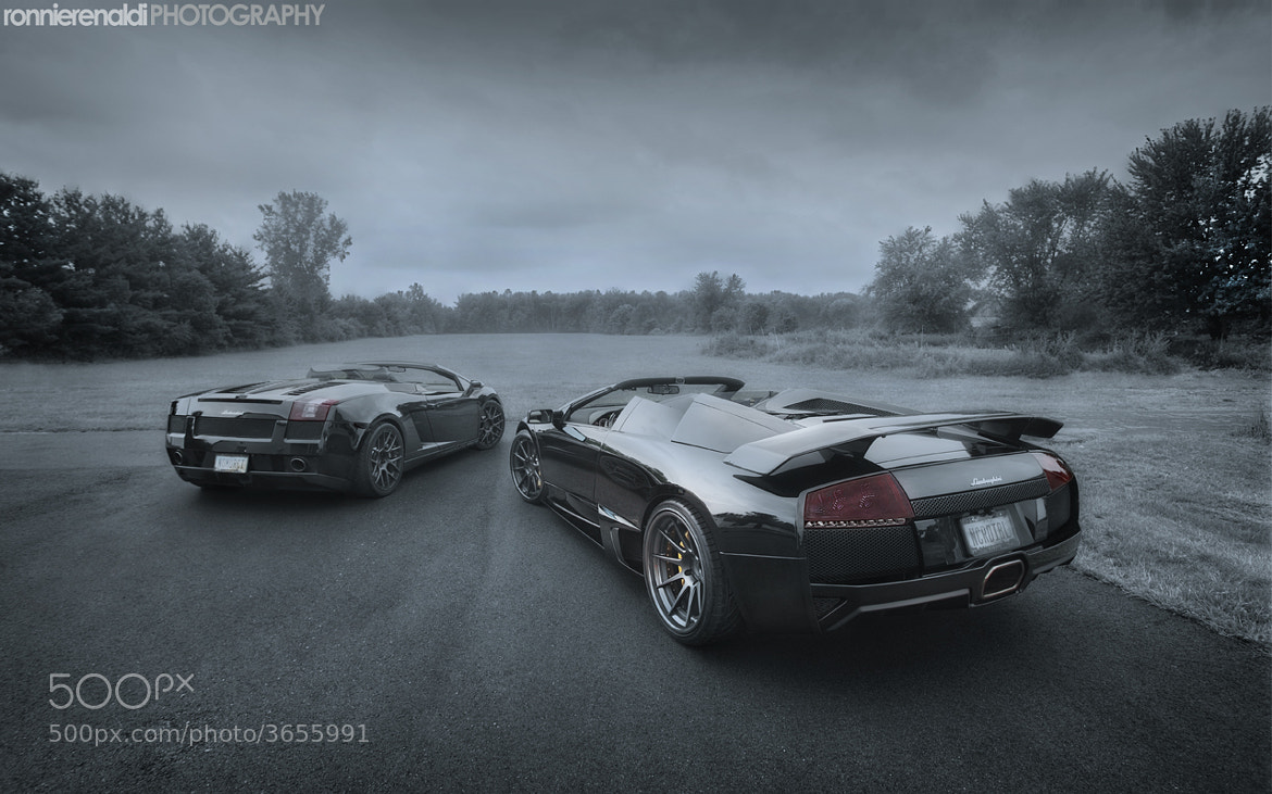 Photograph Lamborghini Murcielago LP640 Roadster | ADV1 Wheels by Ronnie Renaldi on 500px
