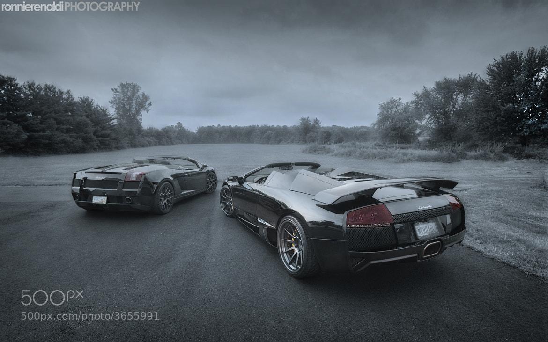 Photograph Lamborghini Murcielago LP640 Roadster   ADV1 Wheels by Ronnie Renaldi on 500px