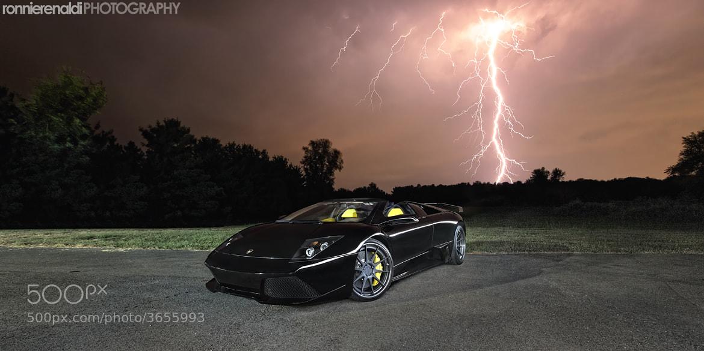 Photograph Lamborghini Murcielago LP640 Roadster | ADV1 Wheels by Ronnie Renaldi on 500px