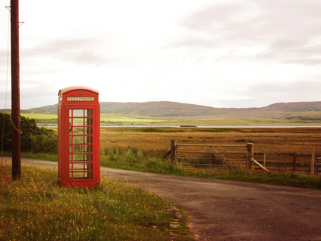 Photograph Lone Telephone by Andrew Allan on 500px