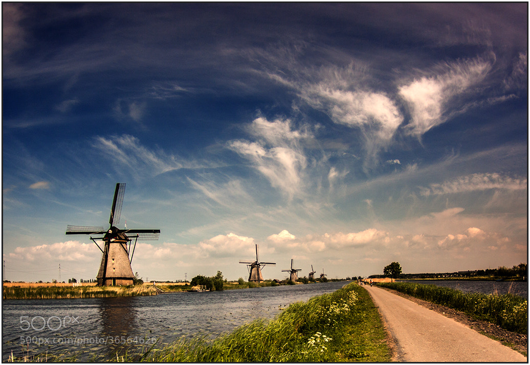 Photograph Kinderdijk by wim denijs on 500px