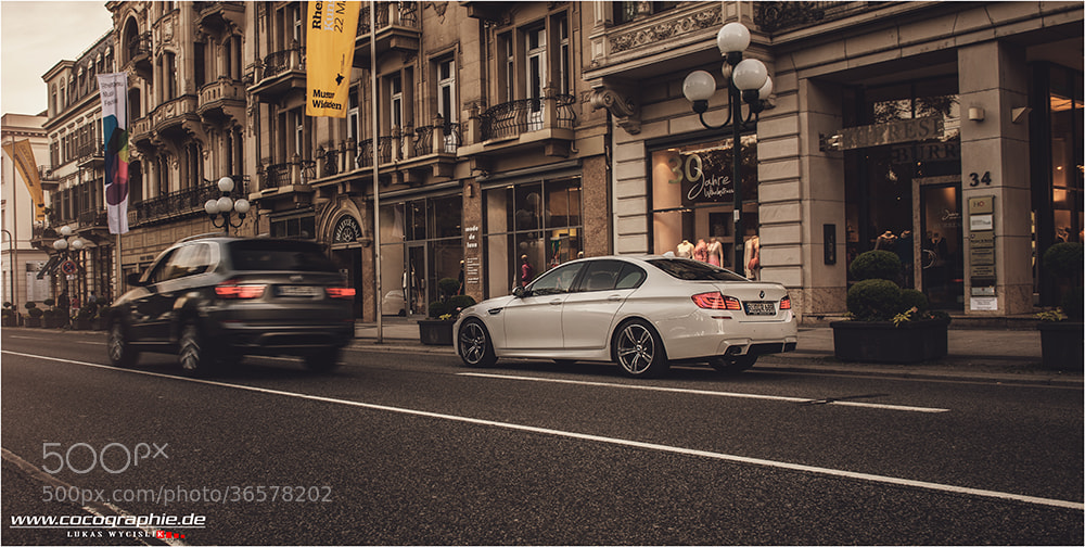 Photograph BMW M5 by cocographie. de on 500px