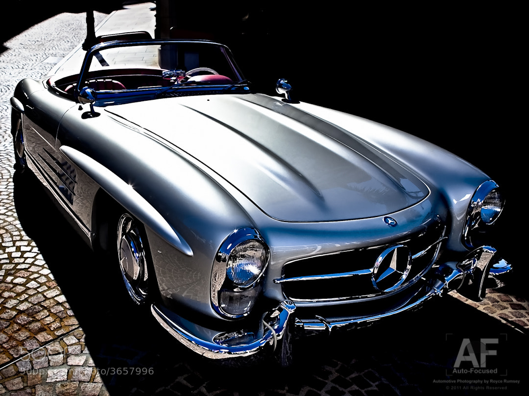 Photograph 300SL Roadster, Rodeo Drive by Royce Rumsey on 500px
