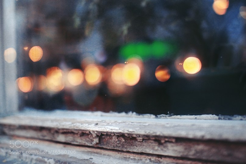 Photograph Window lights by Anastasia Smurova on 500px