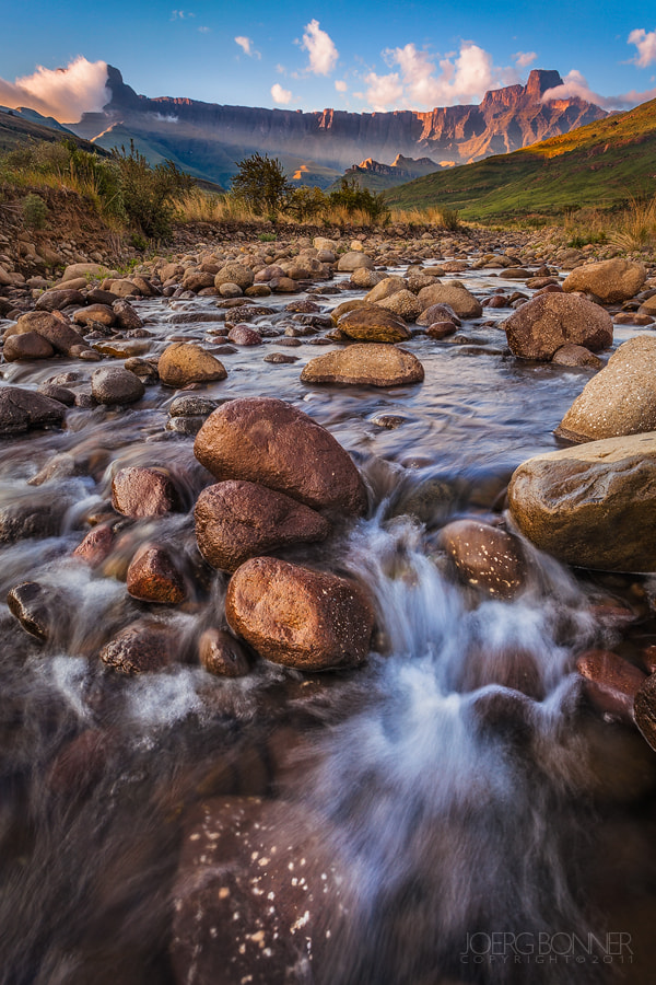 Photograph Drakensberg Morning by Joerg Bonner on 500px