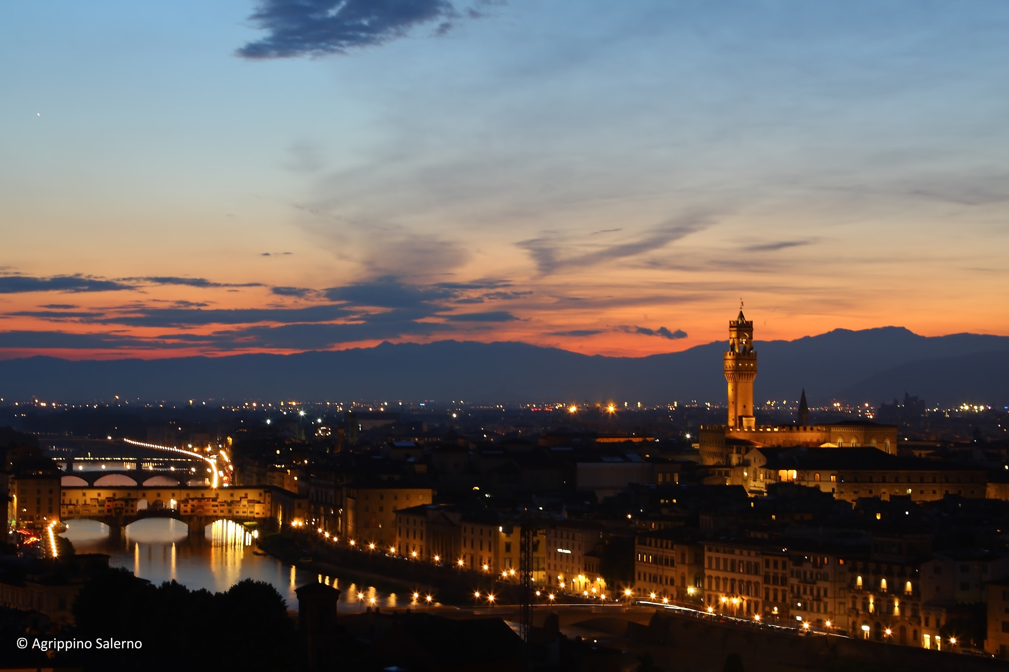 Photograph The blue hour by Agrippino Salerno on 500px