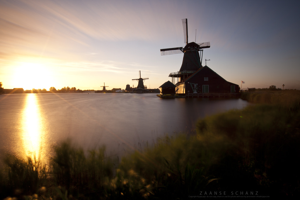 Photograph 80 seconds into the sun - Zaanse Schans III by K J on 500px