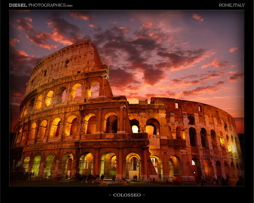 Photograph Colosseo by Luke Griffin on 500px