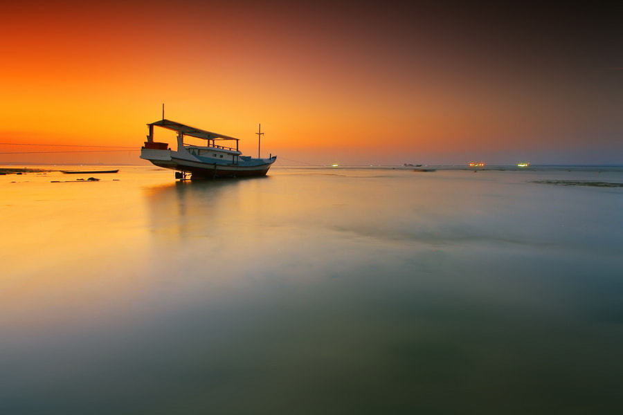 Photograph  Boat of Twilight by Aris Winahyu BR on 500px