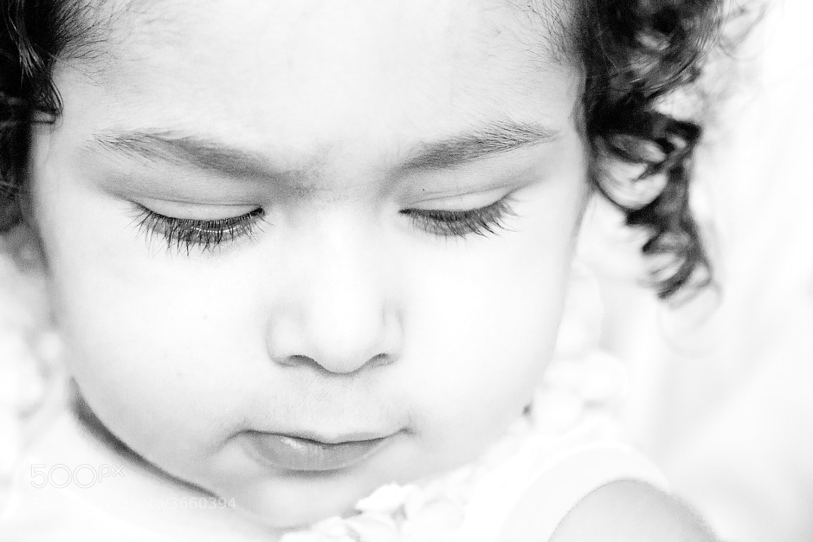 Photograph Baby in Black and White by Bharath Ravichandran on 500px