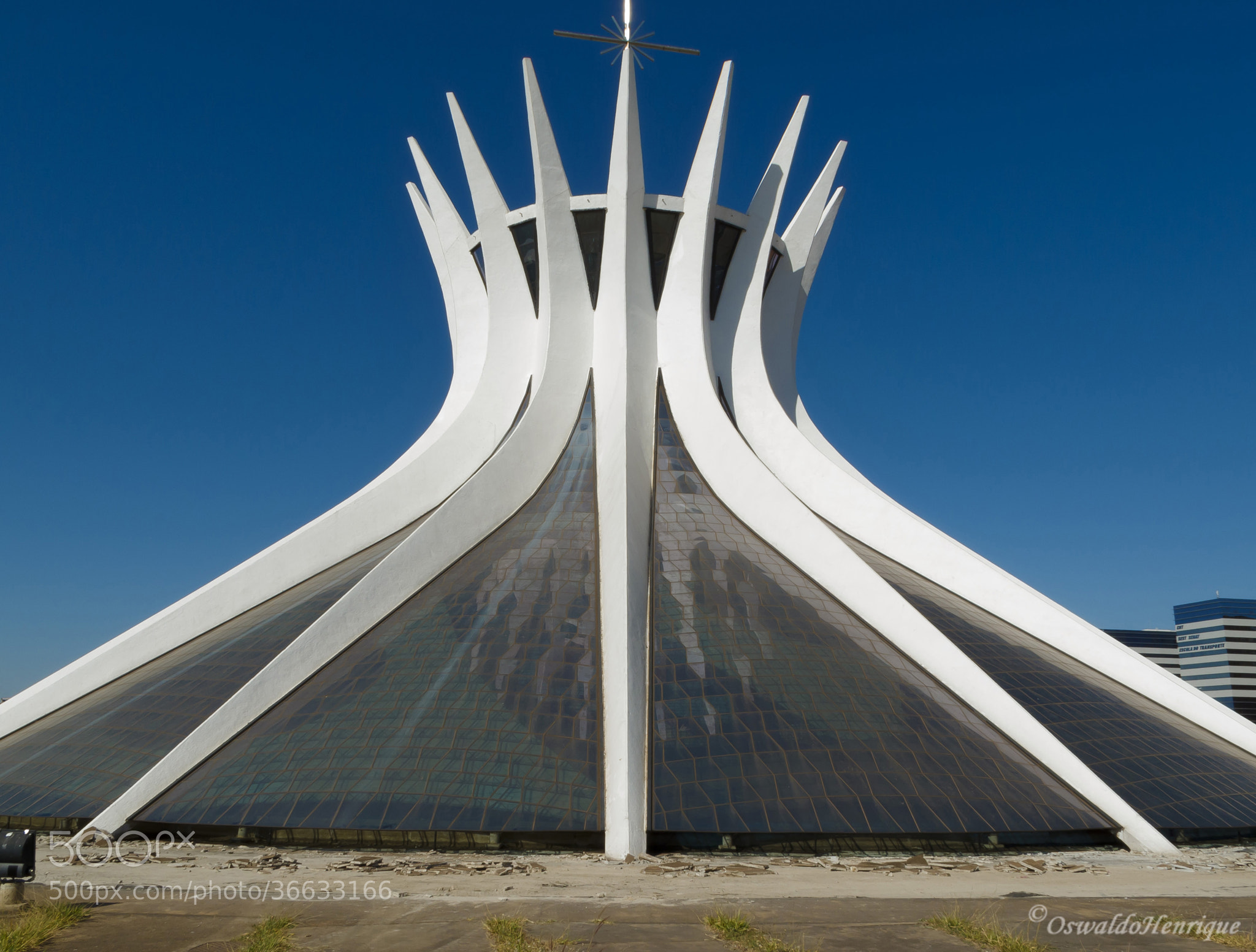 Photograph Catedral de Brasília - 3 by Oswaldo Henrique on 500px