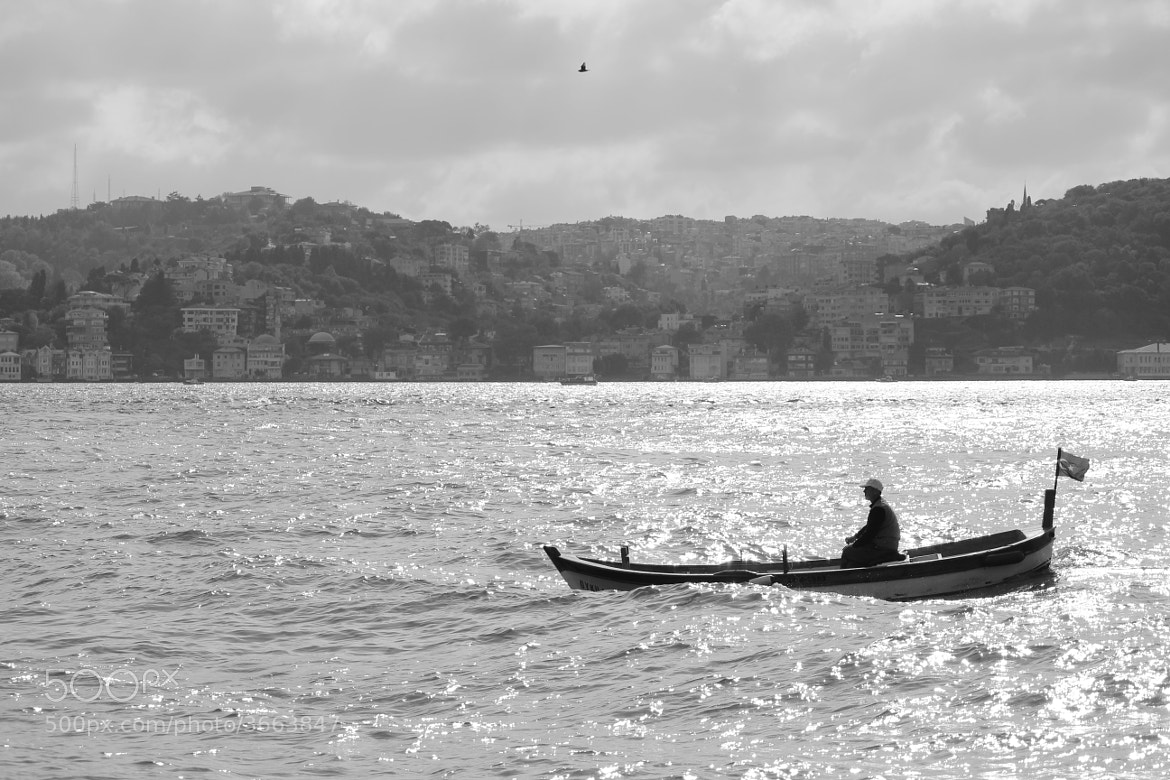 Photograph Fisherman in İstanbul by Peker Ayan on 500px