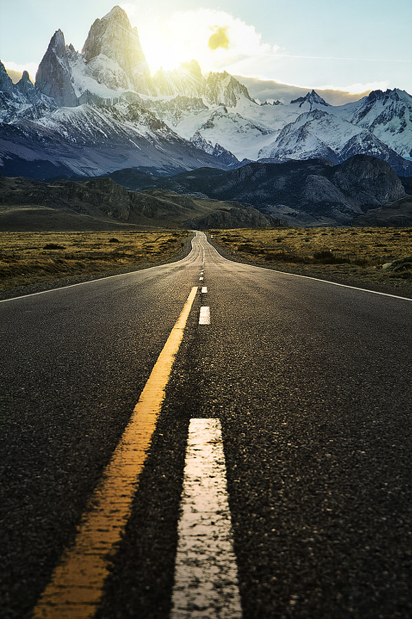 Photograph The Road to Fitzroy by Jimmy Mcintyre on 500px