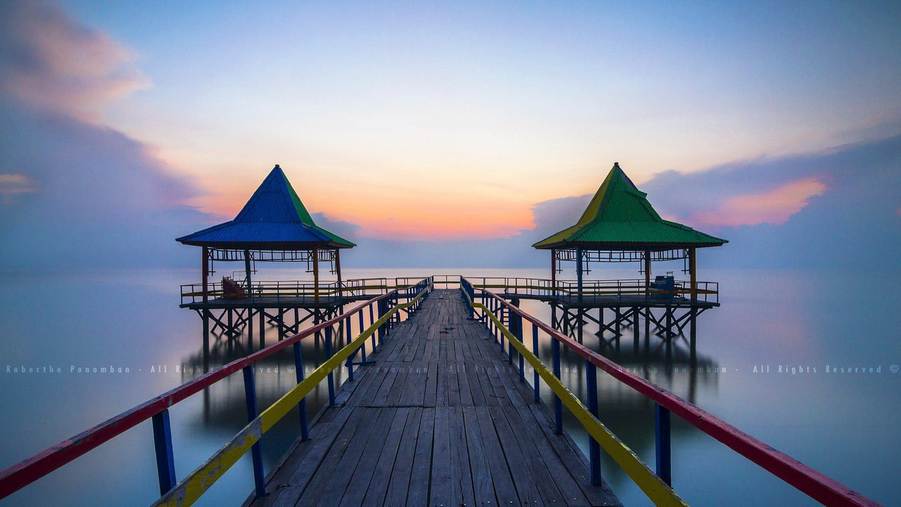 Photograph Few step forward at the jetty by Robertho Ponomban on 500px