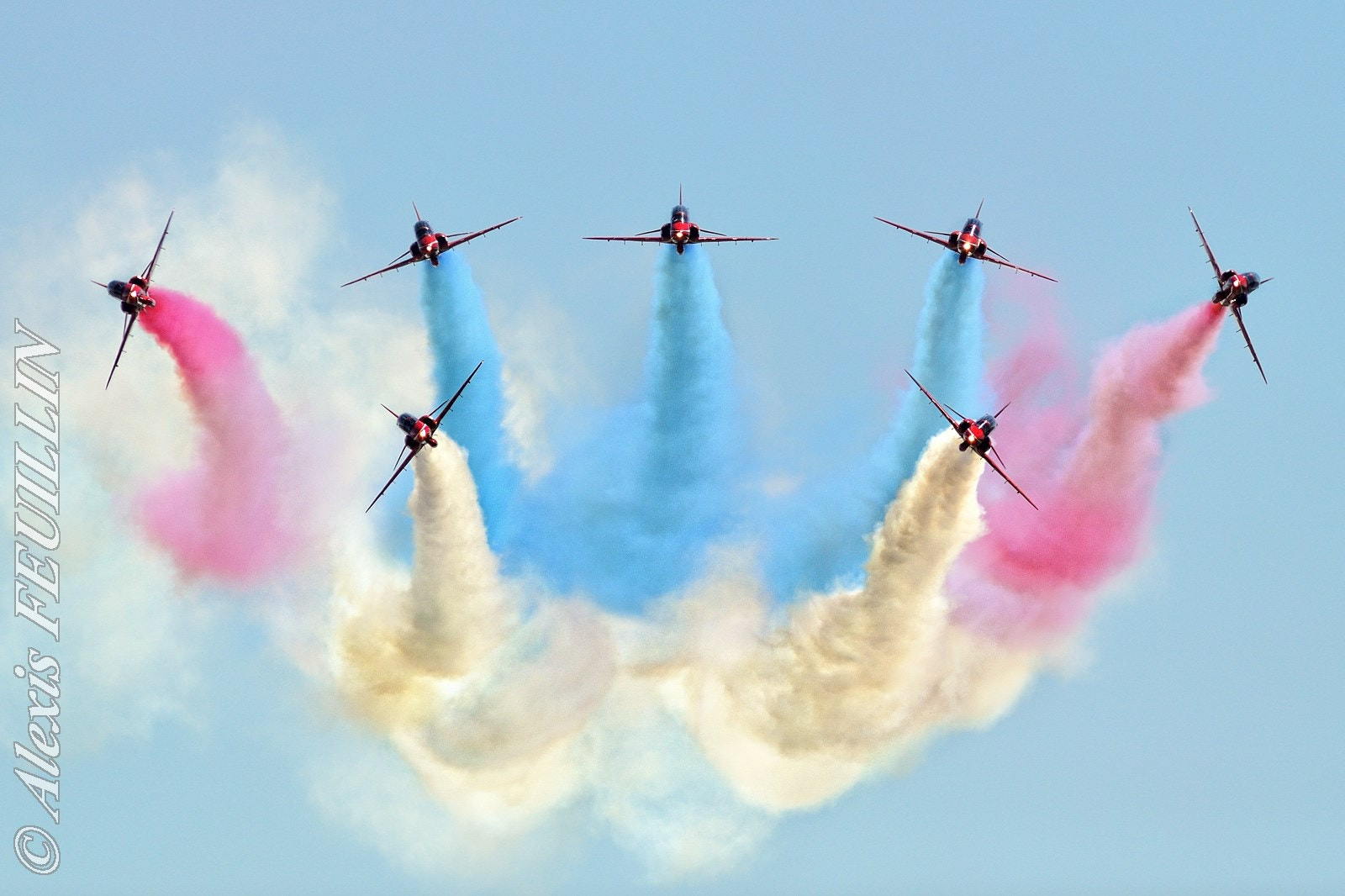 Photograph Red Arrows by Alexis FEUILLIN on 500px