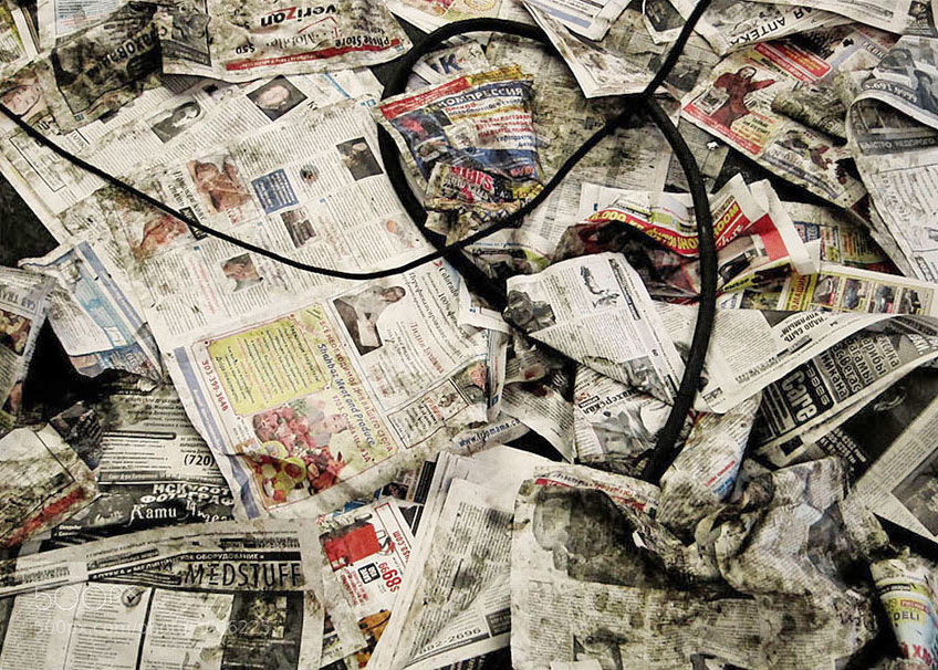 Photograph Newspapers by Richard Feldman on 500px