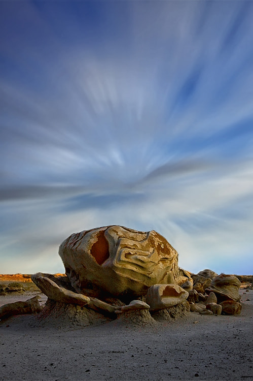 Photograph Cracked Egg - Bisti Badlands by Cecil  Whitt on 500px