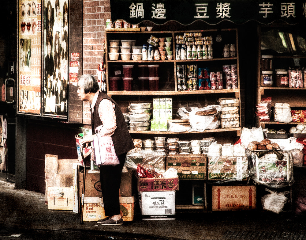 Photograph Chinatown Shopping by Paul Bartell on 500px
