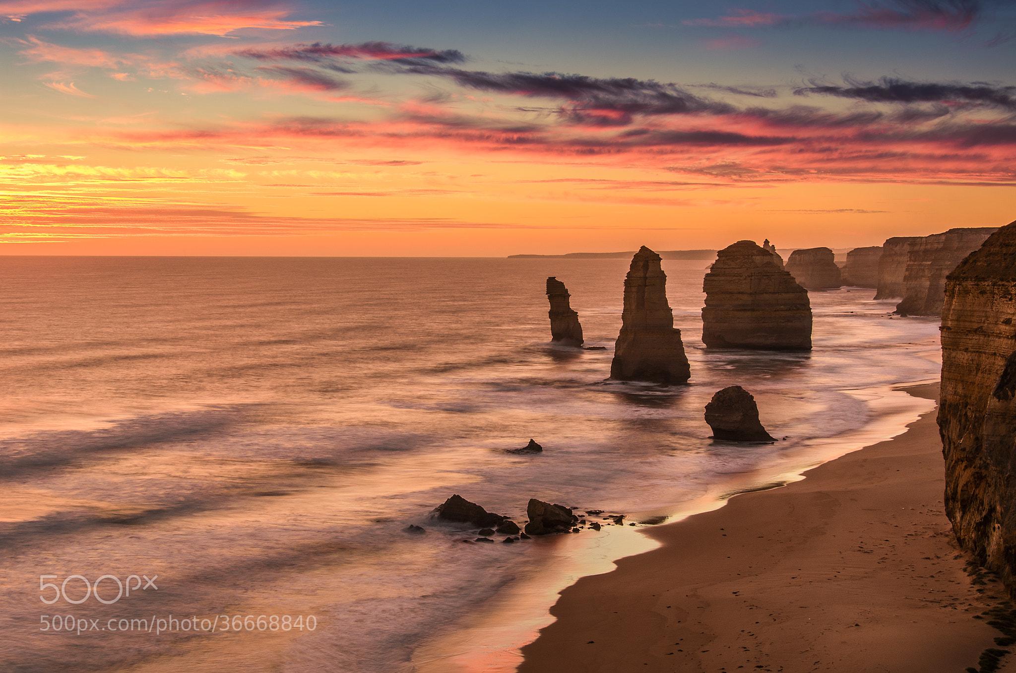 Photograph Sunset @ Twelve Apostles by Martijn Barendregt on 500px
