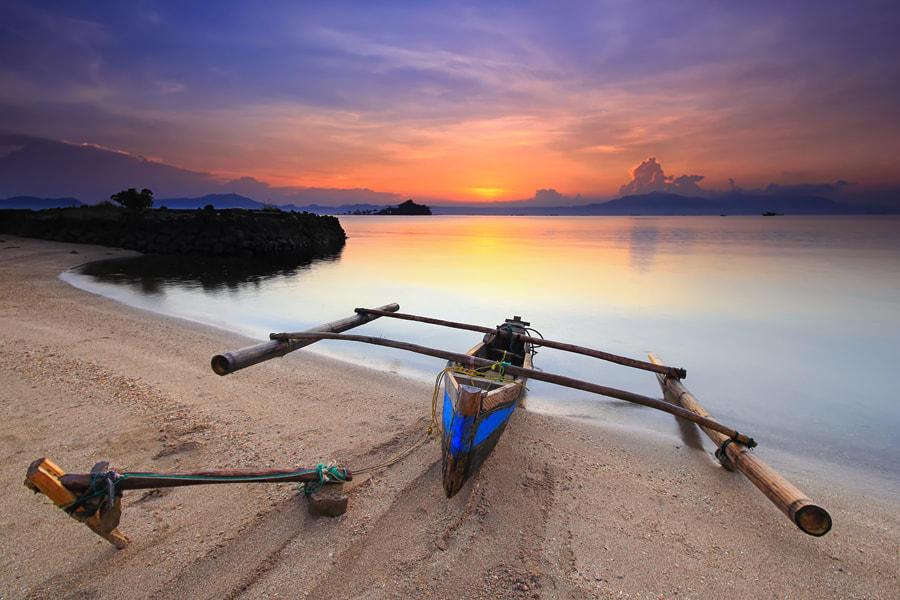 Photograph Indonesian Boat by Danis Suma Wijaya on 500px