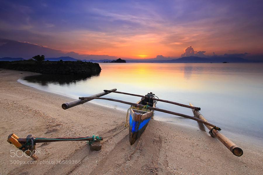 Photograph Indonesian Boat by Danis Suma Wijaya on 500px