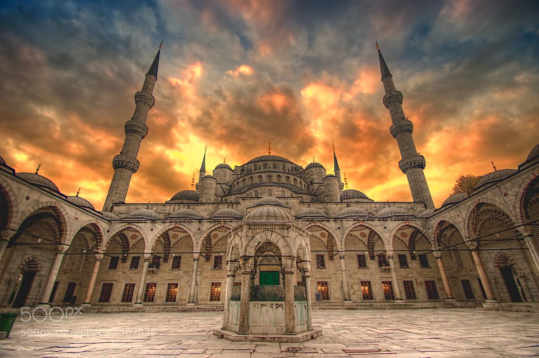 Photograph Blue Mosque by Sandeep Babu on 500px