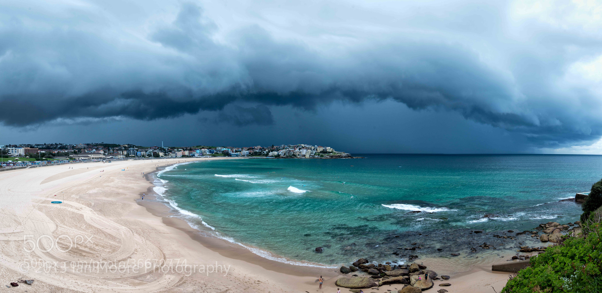 Photograph Storm over Bondi by Ian Moore on 500px