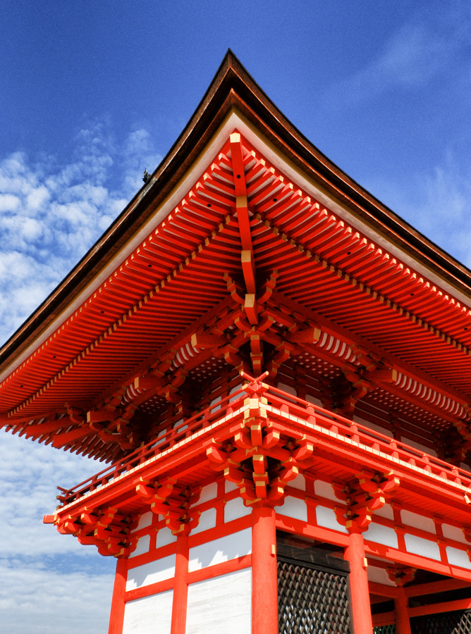 Photograph Kiyomizu-dera Temple by Terry Cluley on 500px