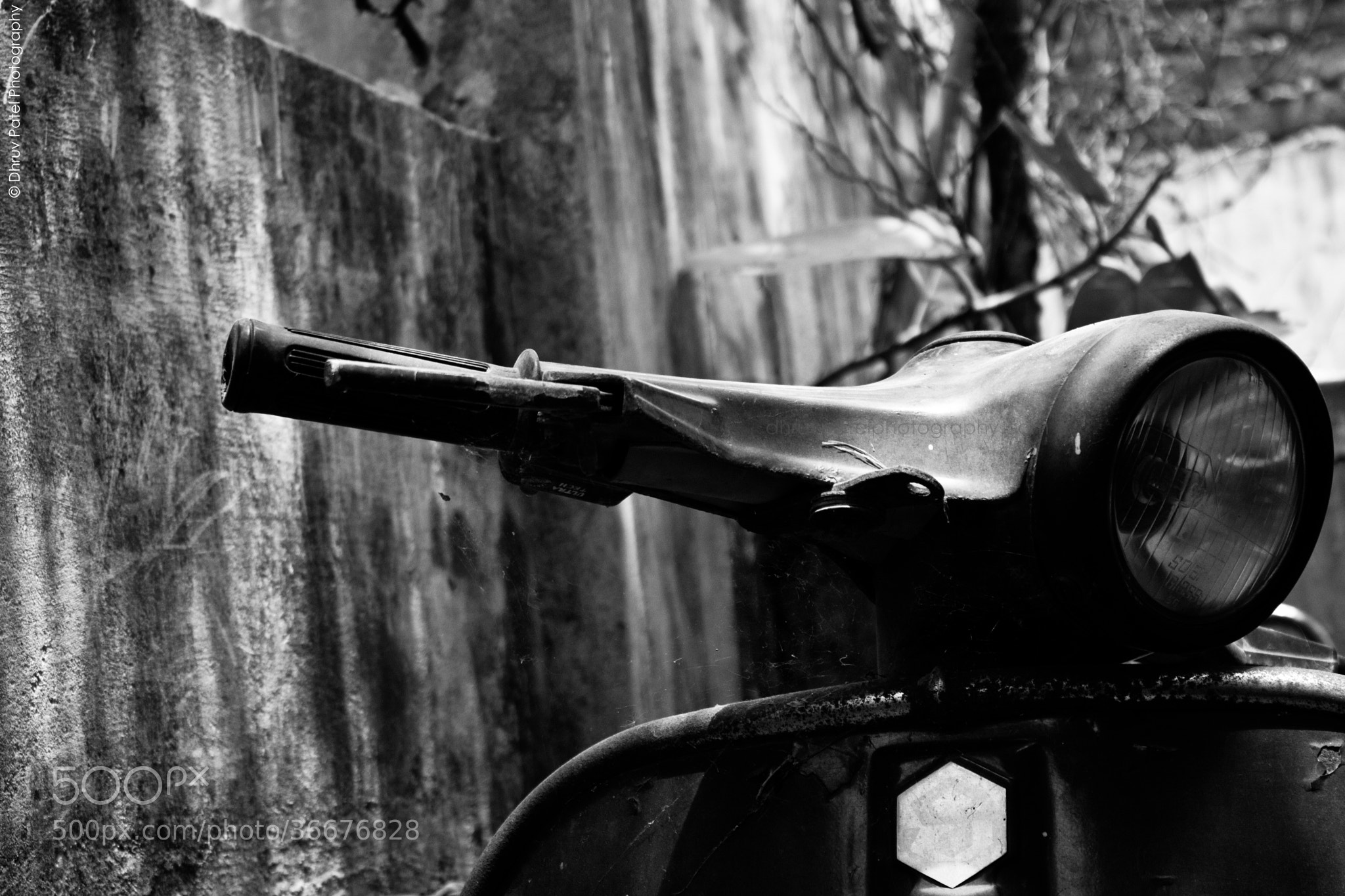 Photograph Retro Scooter by Dhruv Patel on 500px