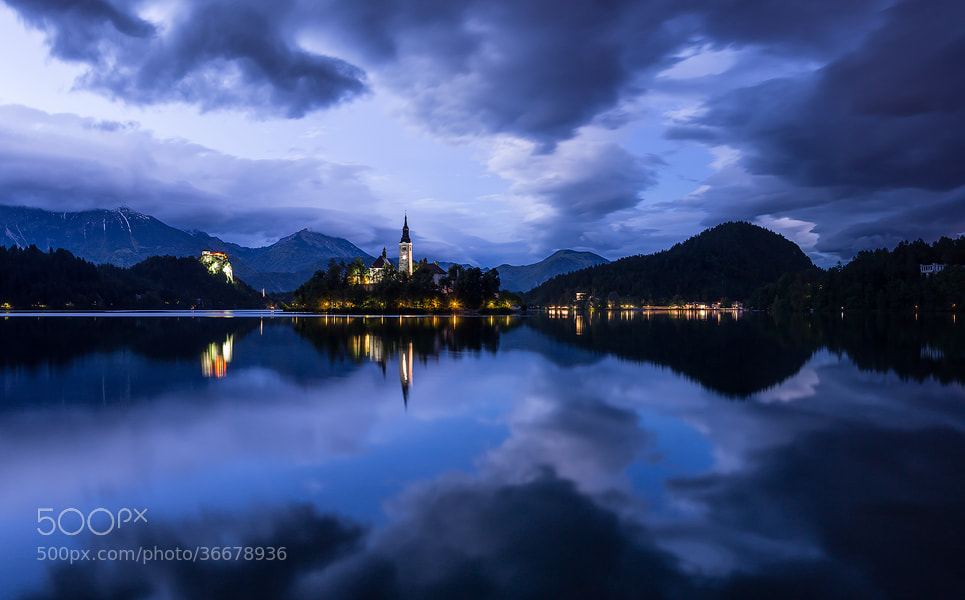 "Photograph ""Lake Bled Blue"" by Jim Nilsen on 500px"