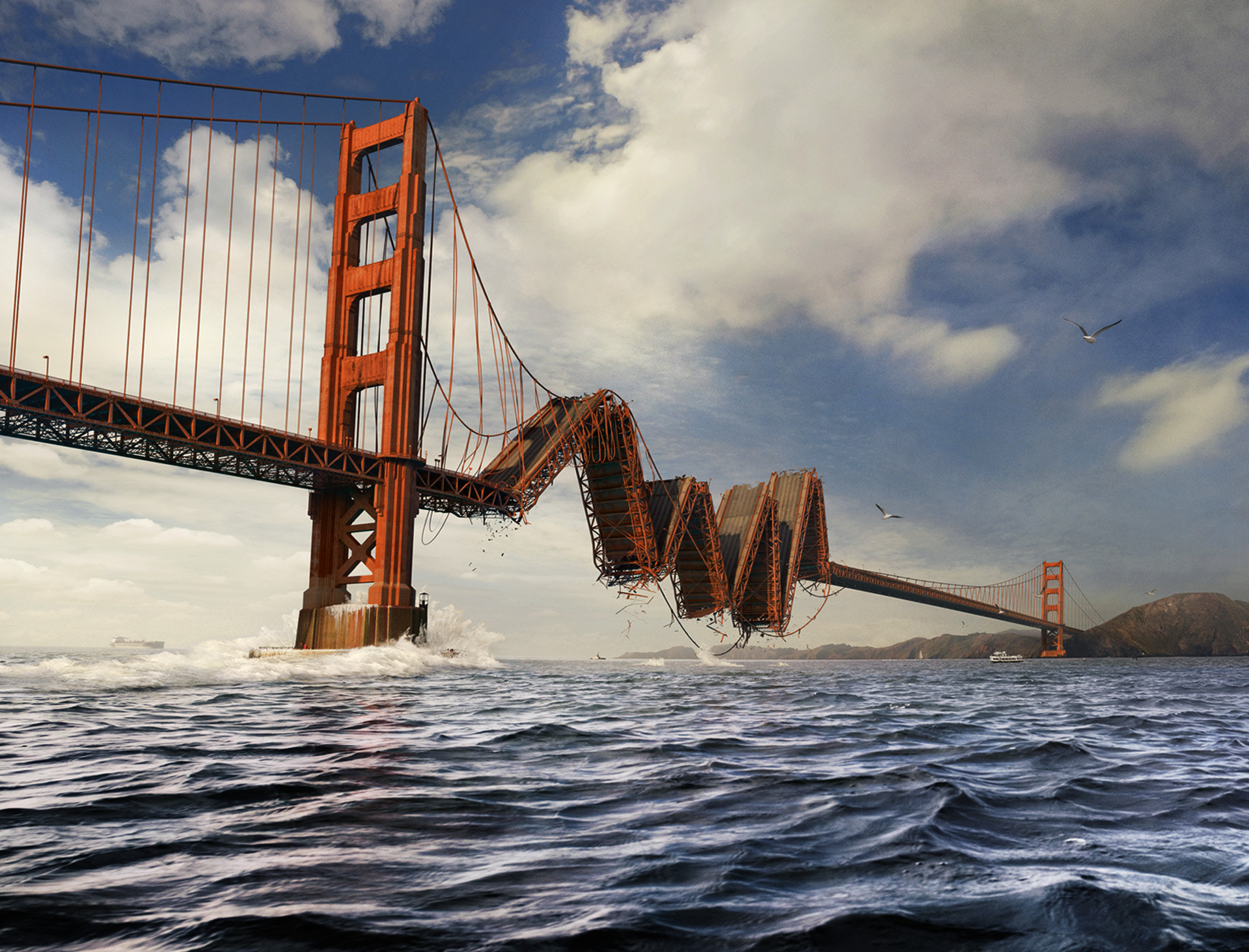 Photograph Golden Gate by DDNA on 500px