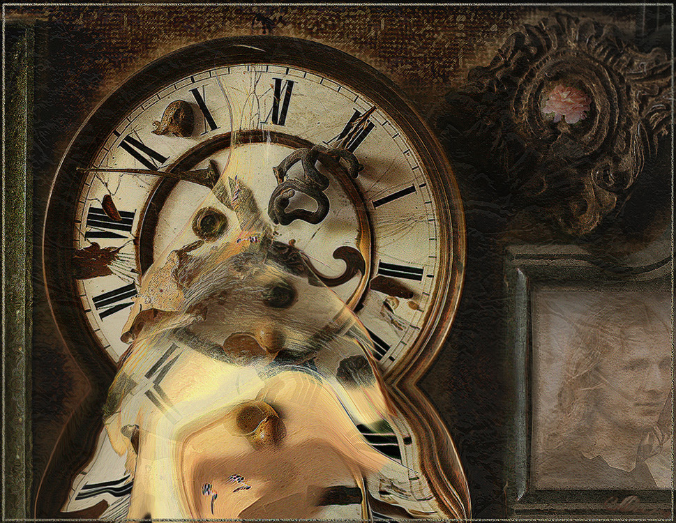 Photograph  Old clock by Alla  Lora on 500px