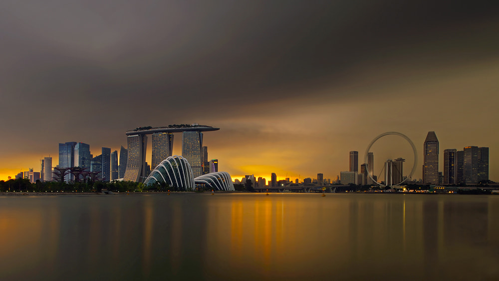Photograph Eye of the Storm by WK Cheoh on 500px