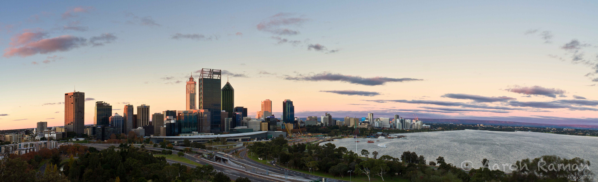 Photograph Sunset from Kings Park by Aaron Raman on 500px