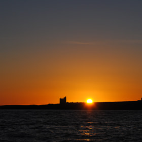 Sunrise over The Inner Farne