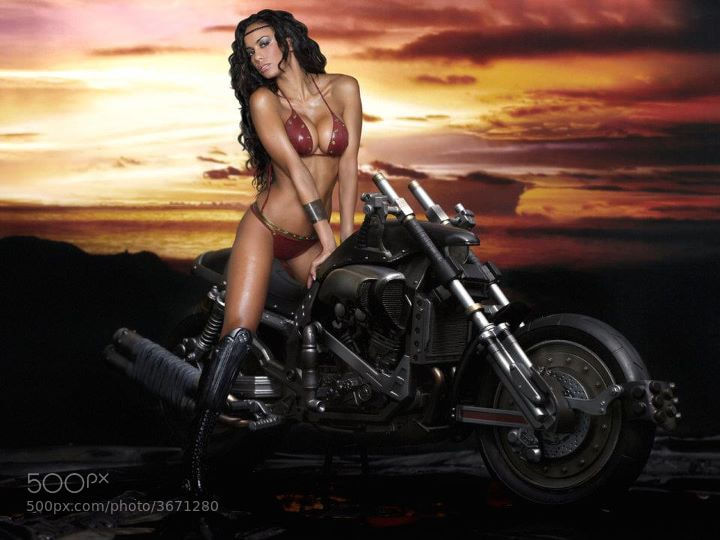 Photograph Bikes & babes by Alessandro Vandernoot on 500px