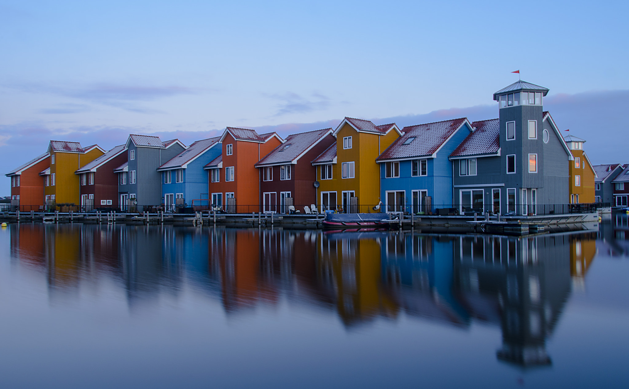 Photograph Colorful houses by Martijn Barendregt on 500px