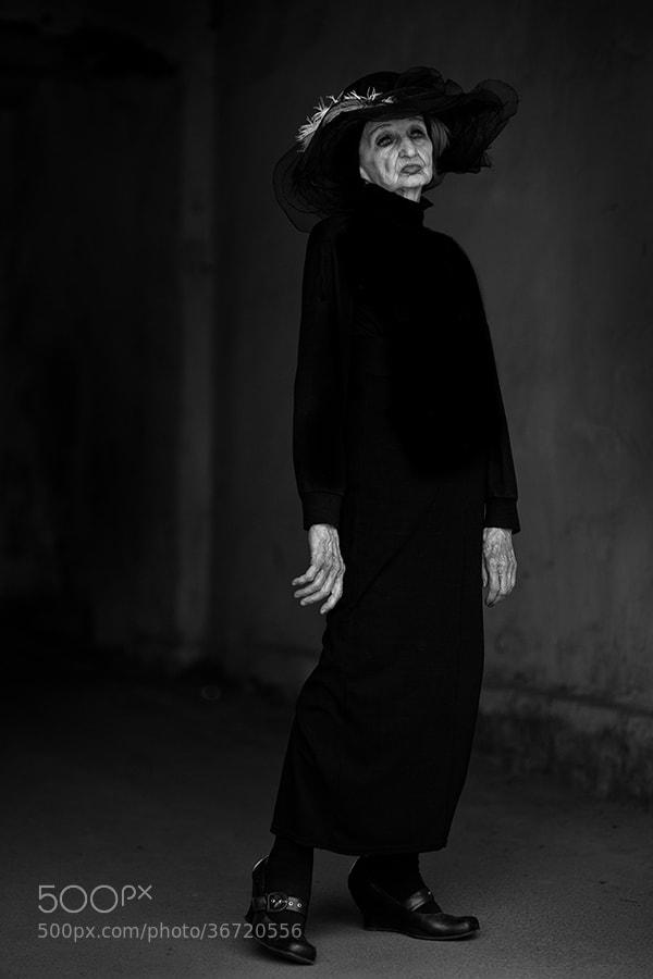 Photograph Ninety-woman. Svoboda Pavlovna Ivanova-Zaluzhskaya by alexander kan on 500px