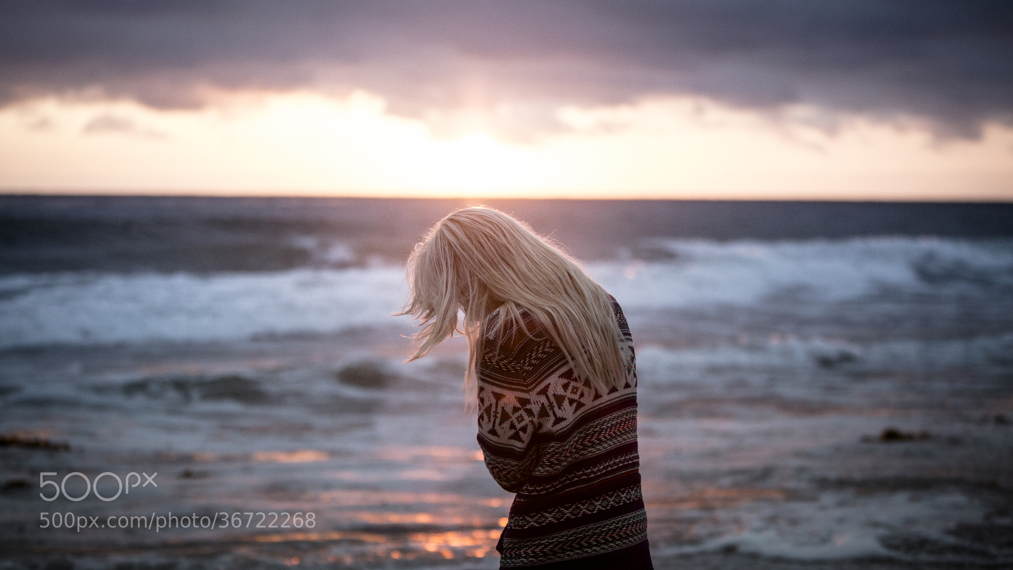 Photograph Her and the Sea by Jeff Dotson on 500px