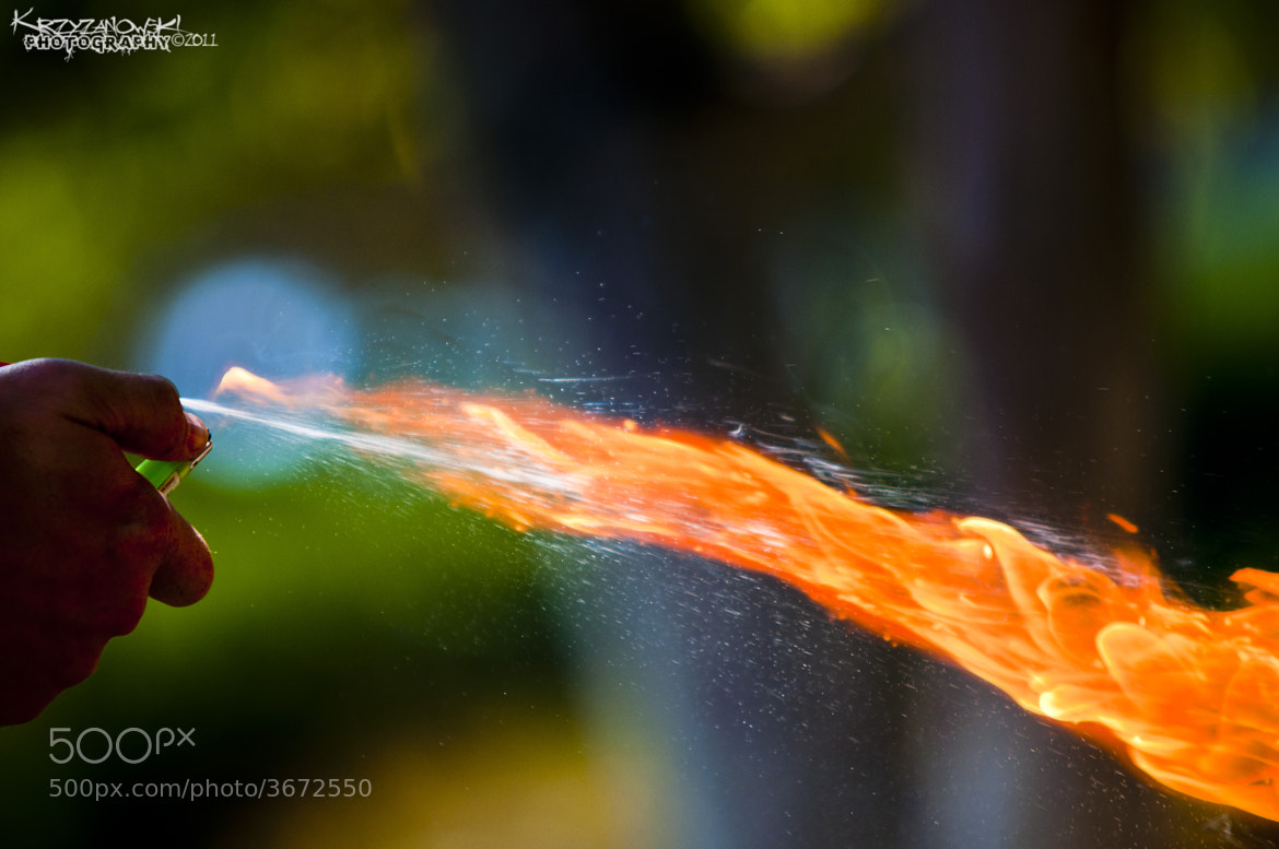 Photograph Playing with Fire by Andy Krzyzanowski on 500px