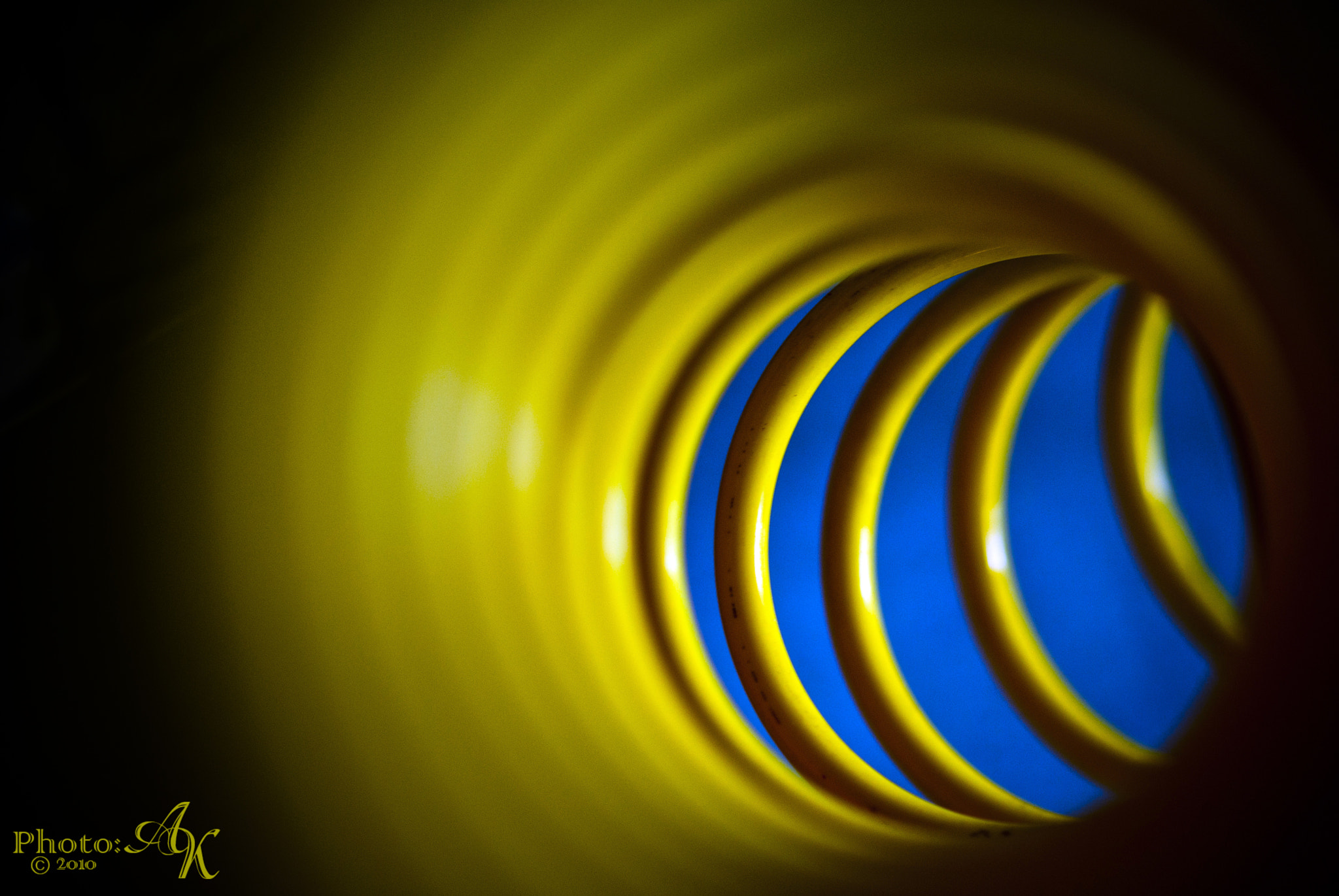 Photograph Through the Coil Hose by Andy Krzyzanowski on 500px